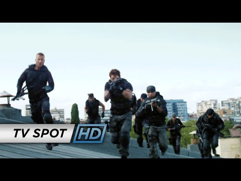 The Expendables 3 (2014 Movie - Sylvester Stallone) Official TV Spot - 'New Recruits'