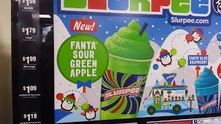 Carbs - 7-eleven Fanta Sour Green Apple Slurpee