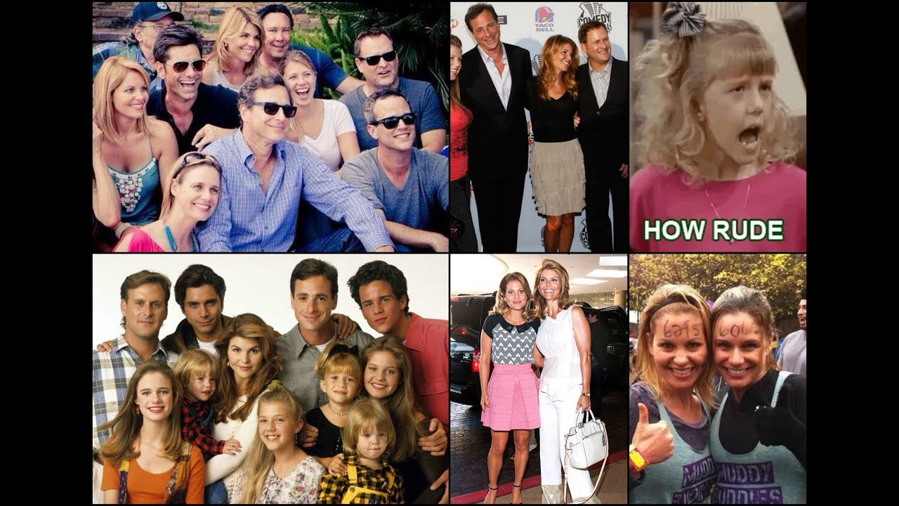 Full house stars then and now the image for Fully house