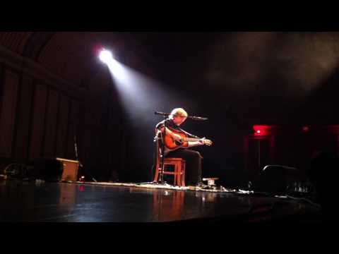 Trey Anastasio Acoustic Show in Troy NY 3/10/17 Part 1