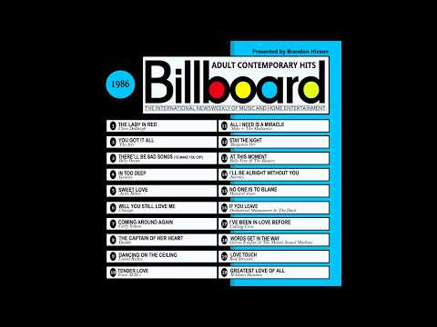 Billboard Top AC Hits - 1986