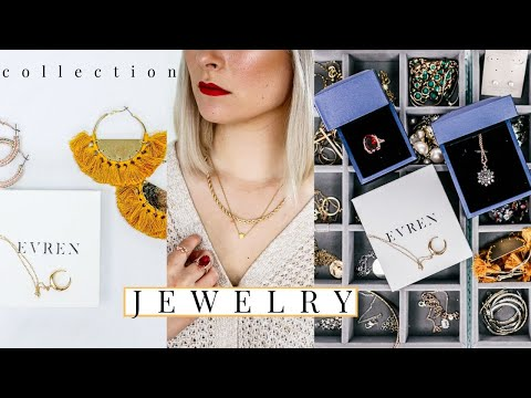 MY JEWELRY COLLECTION 2020 (TRY-ON) | LUXURY /AFFORDABLE / THRIFTED JEWELRY COLLECTION