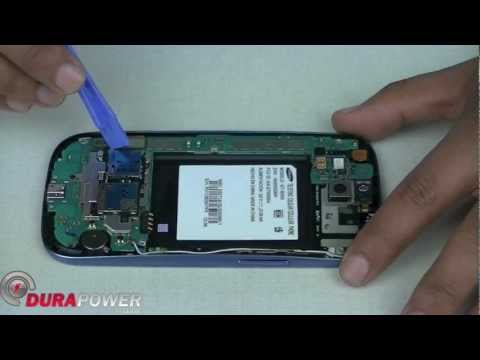 How to Take apart the Samsung Galaxy S3 III GT- i9300 By Durapower Global