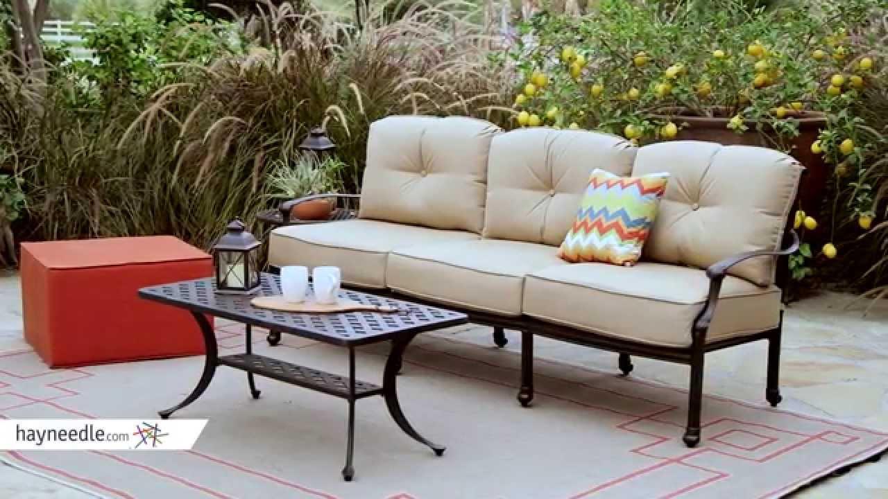 Belham Living Palazetto Cast Aluminum Outdoor Sofa Set Product