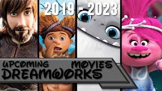 Upcoming Dreamworks Movies 2019-2023