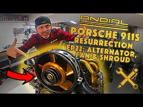 How to Install Alternator, Fan, & Engine Shroud on an Aircooled Porsche 911 , Projekt Airkult EP22