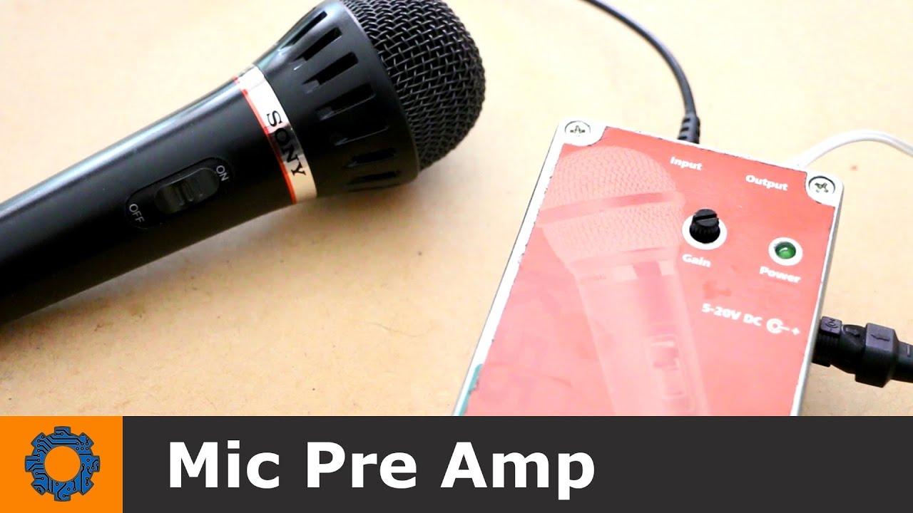 Microphone Preamp Diy Kit | Crafting