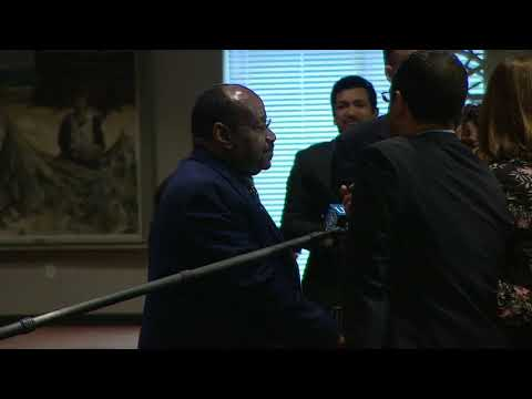 Equatorial Guinea on Palestine - Security Council Media Stakeout ( 06 Ferbuary 2019)