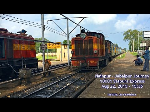 Nainpur - Jabalpur Narrow Gauge Journey