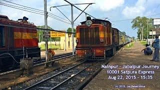 Nainpur - Jabalpur Narrow Gauge Journey