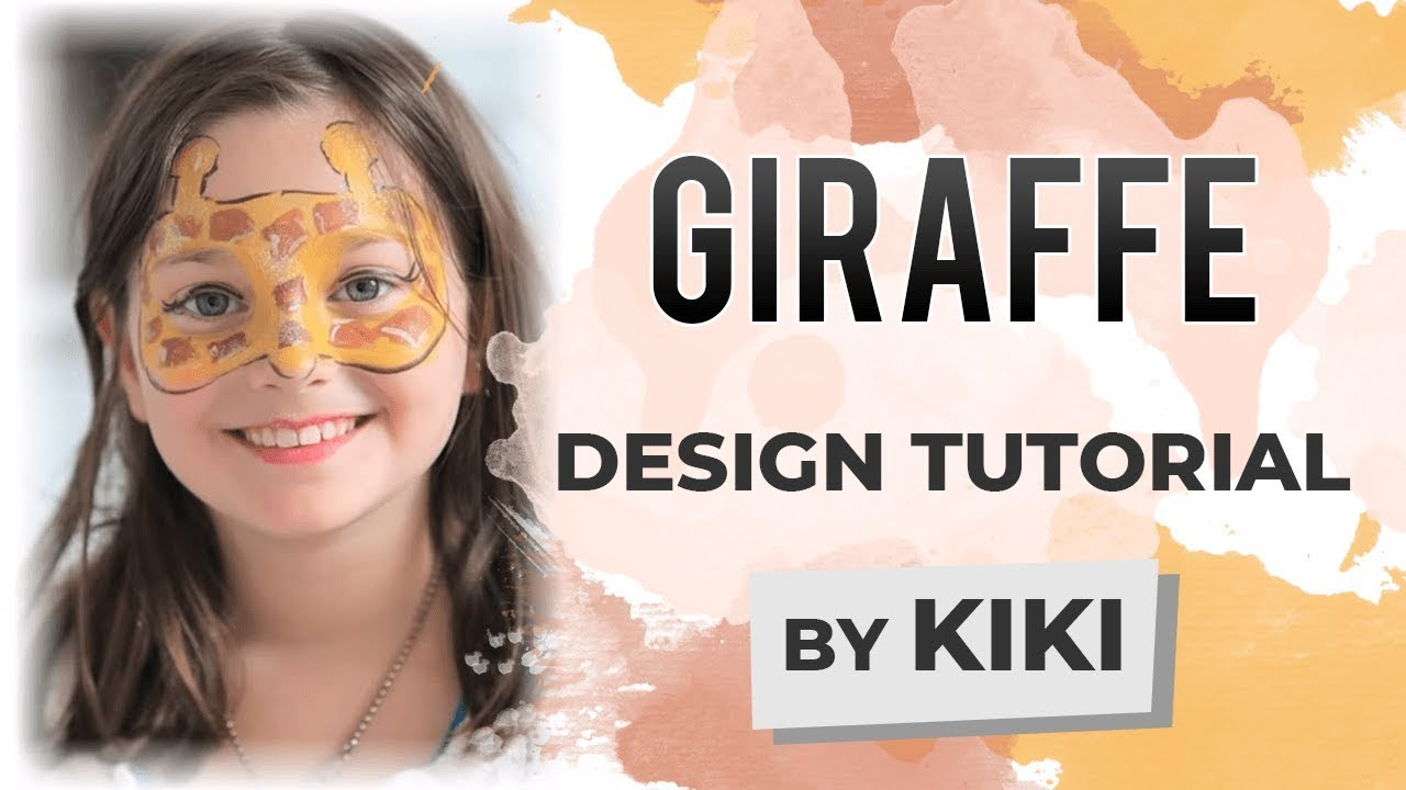 Giraffe Face Painting Tutorial YouTube