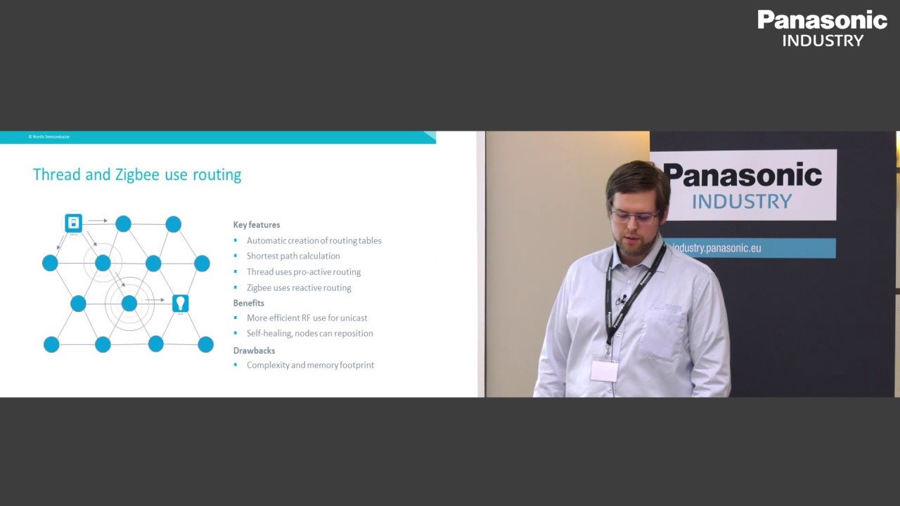 Jorgen Holmefjord on Mesh networks on the nRF52840 – Thread, Zigbee and BT  Mesh