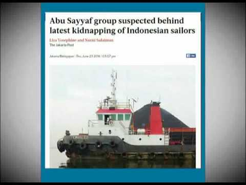 7 Crewmen Kidnapped In Philippines Waters
