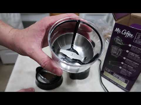 Review of Mr Coffee Programmable Coffee Grinder