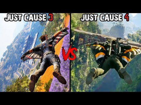 Just Cause 4 Vs Just Cause 3- Graphics And Gamplay Comparison | 2018