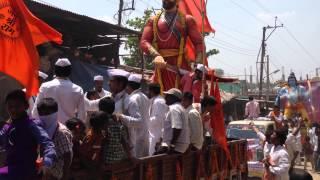Raja Singh -Dhol Pathak Pune - ram navami 2015 shobha yatra Dhoolpet