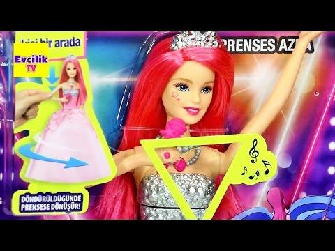 Barbie Prenses Azra Rockstar Eylül Oyuncak - EvcilikTV