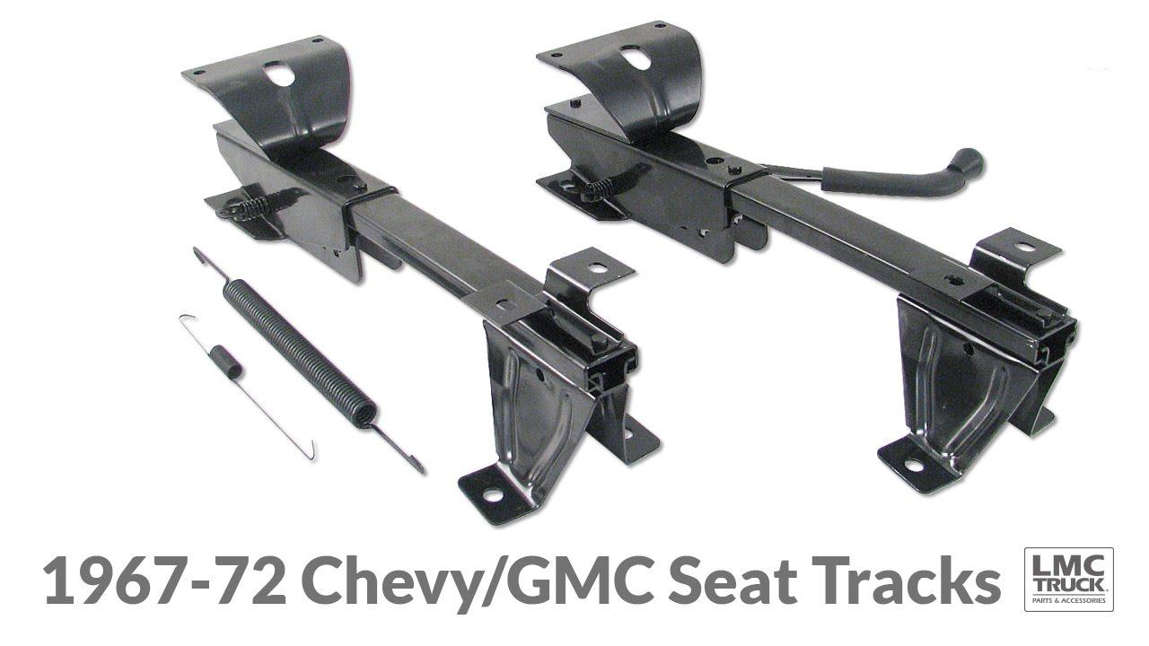 Bench Seat Tracks for 1969-72 Chevy & GMC Trucks - LMC ...
