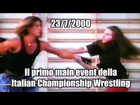 Il video ritrovato di Frost vs Manuel Majoli da ICW ''Inauguration Day'' (2000)