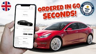 I Order a Model 3 in just 62s - NEW WORLD RECORD & WORLD FIRST!