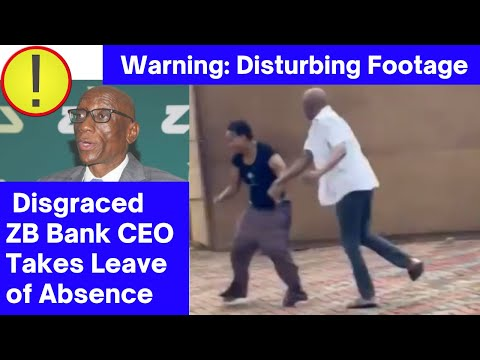 Disgraced ZB CEO Takes Leave After Video Of Him Bashing Wife Goes Viral, Claims It Was Self Defense