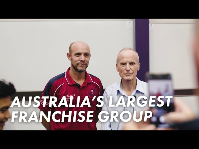 Who is Australia's largest franchise group?