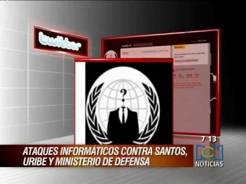 ANONYMOUS COLOMBIA ATACA PAGINA DE LA POLICIA NACIONAL Y REVELA BASE DE DATOS