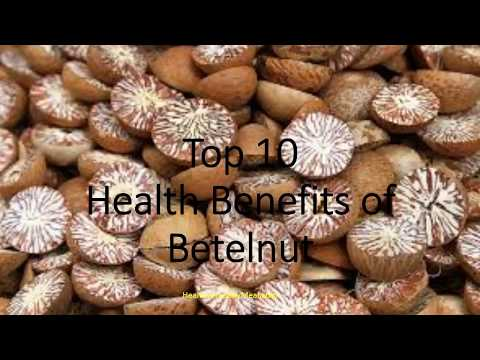 Top 10 Health Benefits of Betelnut | Healthy Wealthy Tips