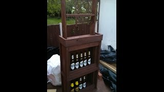 How To Build Your Own Bar Out Of Pallet Wood Step By Step