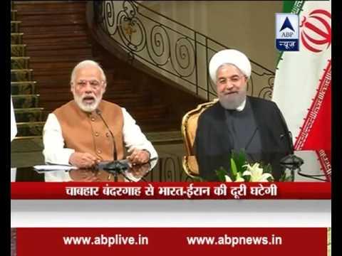 PM Modi in Iran: India, Iran, Afghanistan sign trade corridor deal