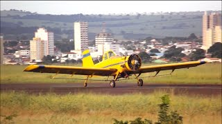 Decolagem - Air Tractor AT-401B - PT-WQY