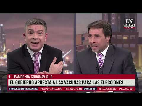 Empezarán a fabricar las vacunas Sputnik V en Argentina. Pablo Rossi con Eduardo Feinmann