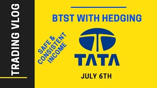 TATAMOTORS FUTURES Intraday and Positional Hedging