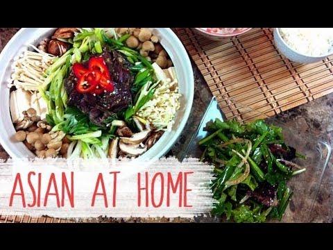 Soup Recipes : Bulgogi Jeongol (Korean BBQ Beef in a Hot Pot) : Korean Food : Asian at Home