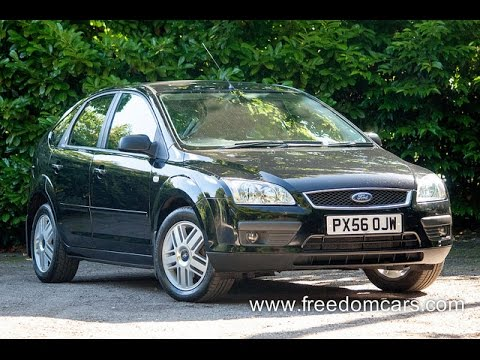 Ford Focus 1.6 Ghia 5dr + Cruise control + Full MOT