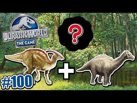Download Youtube: ผสมไดโนเสาร์ Jurassic World จะออกมาเป็นตัวอะไร เกมมือถือ 100 | พี่เมย์ DevilMeiji