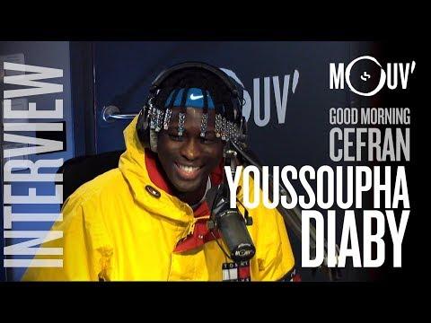 Youtube: YOUSSOUPHA DIABY:«Quand je bossais à Auchan on m'appelait Mufasa» #MORNINGCEFRAN