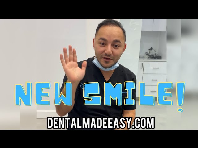 Patient Can't Stop Smiling! | Dental Made Easy, Garden City Park