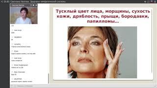 Светлана Хватова Омоложение и оздоровление через очищение лимфы.