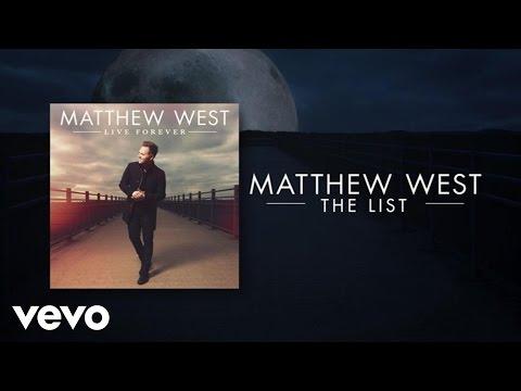Matthew West - The List (Lyric Video)