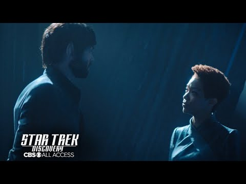 Sonequa Martin-Green and Ethan Peck discuss Spock and Burnham