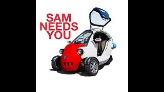 Let's Talk Cars: SAM Electric Vehicle is Available in the USA