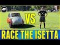 NICK vs THE BUBBLE CAR!!!