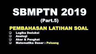 Download Video Pembahasan Latihan Soal SBMPTN 2019 (Part.5) MP3 3GP MP4