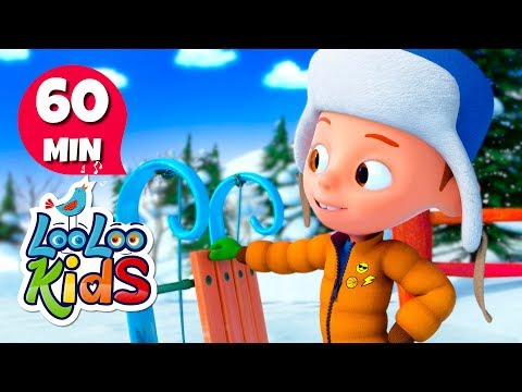 My Happy Sled - Christmas Song for Children | LooLoo Kids