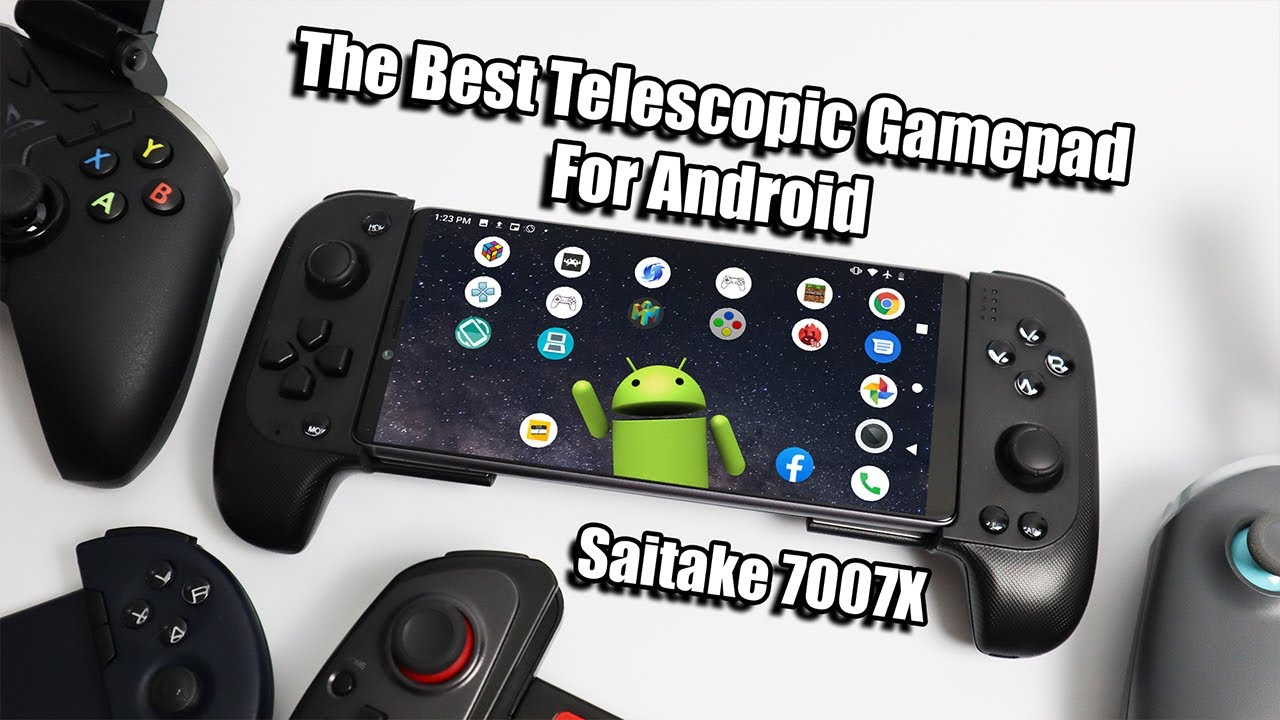 The Best Telescopic Controller For Android Saitake 7007x Review Android Youtube