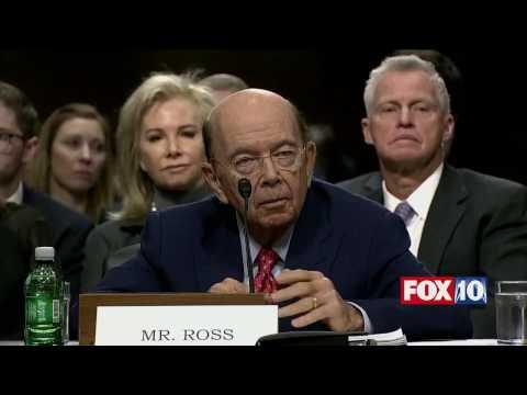 Wilbur Ross Senate Confirmation Hearing -  Trump's Secretary of Commerce Nominee