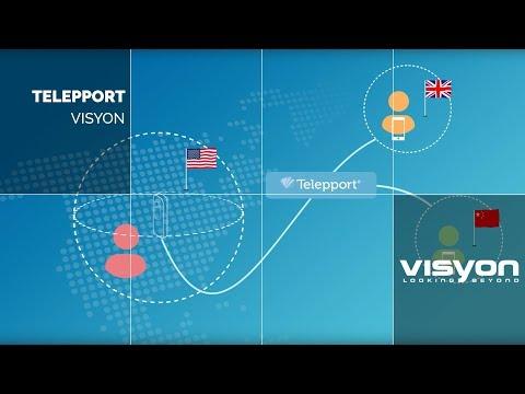 MoGraph Telepport by Visyon | Domestika