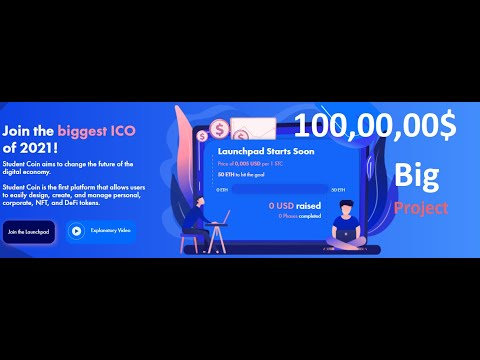 $1 Million Worth Bounty Student Coin Big Project   Crypto Free Airdrop