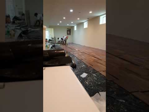 Floating Engineered Hardwood